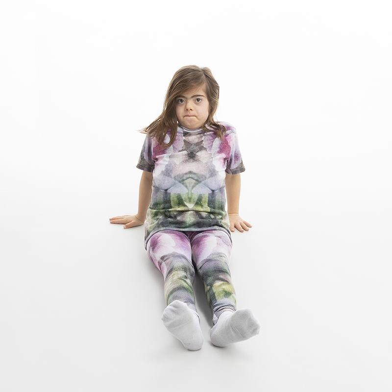 Legging avec design pour fille