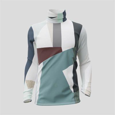 silky Turtleneck Shirt