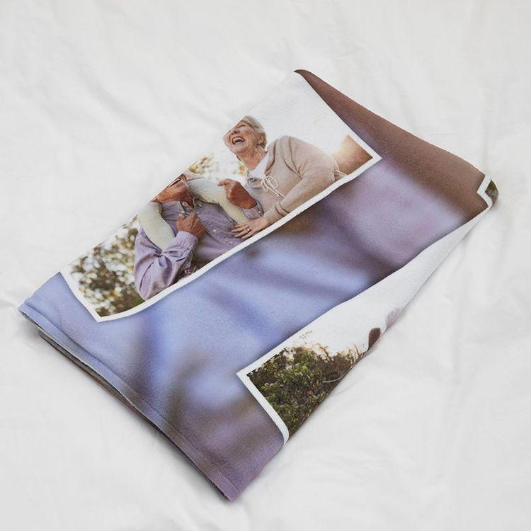 photo memory blanket folded
