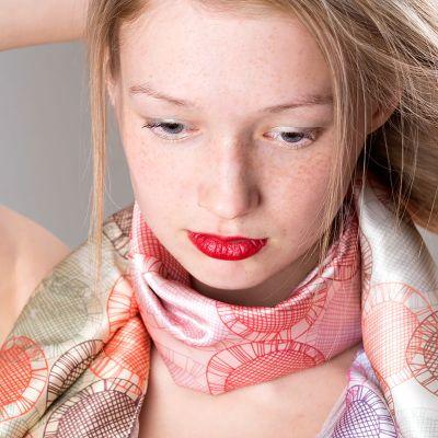 custom scarves canada silk chiffon