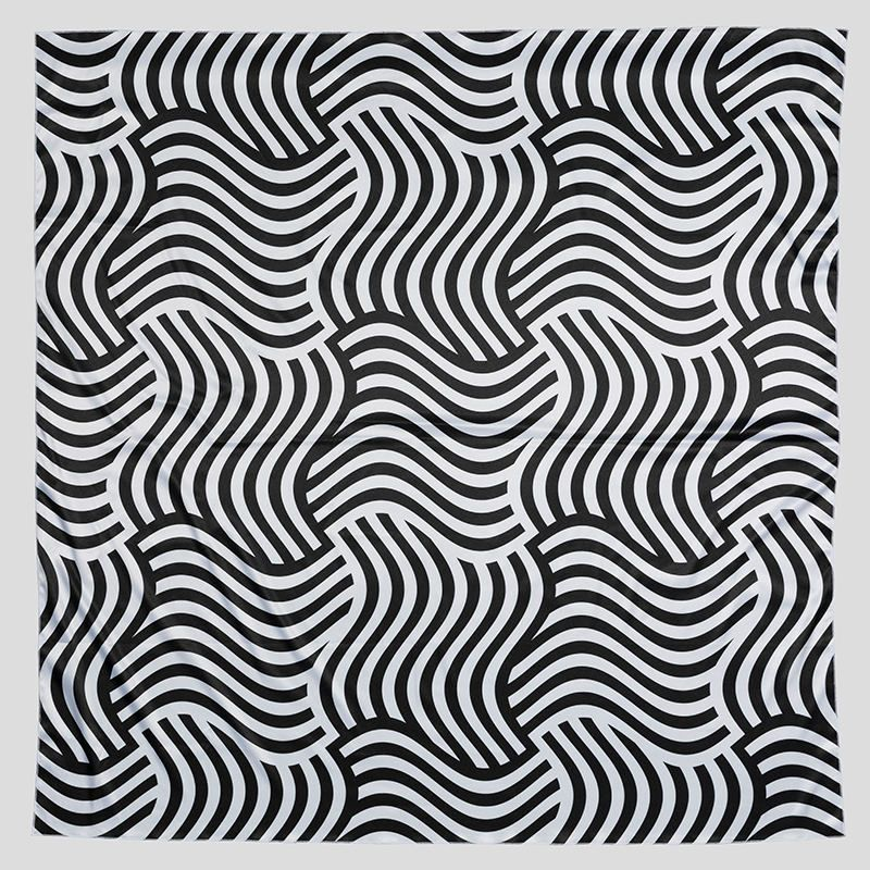 foulard carré personnalisé