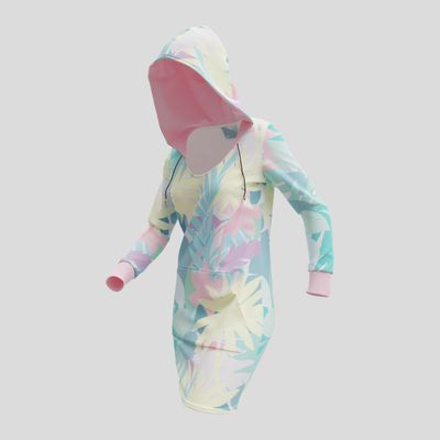 personlig hoodieklänning