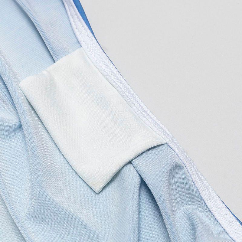 long printed cardigan details