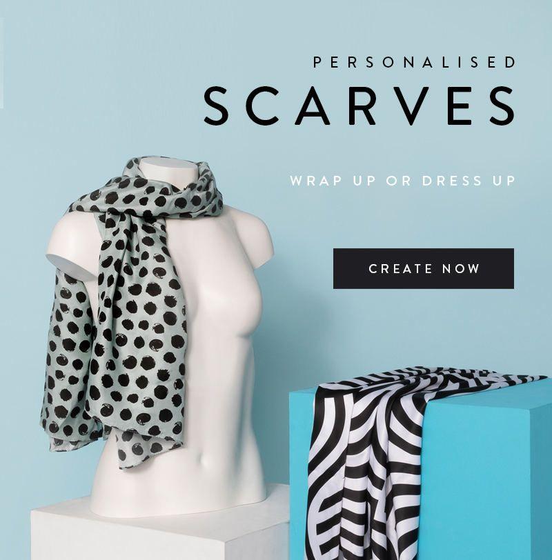 Personalised Photo Scarves
