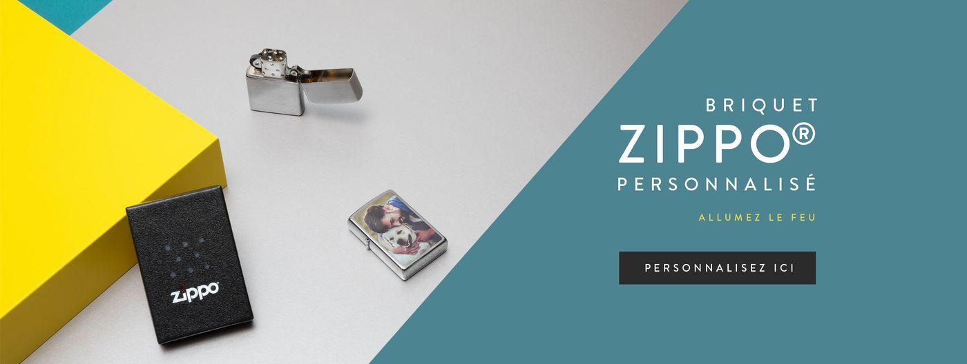 Briquet personnalisé Zippo®