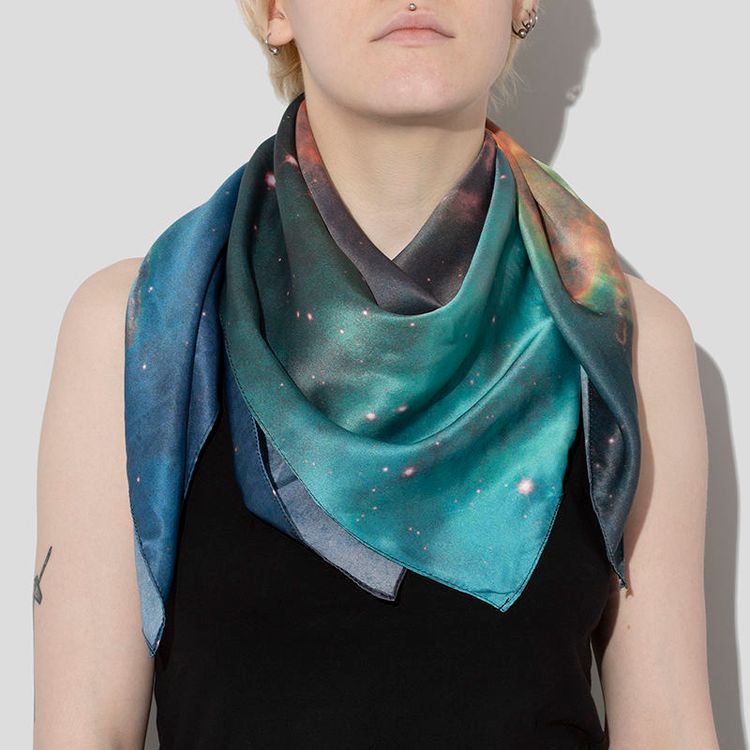 photo scarf