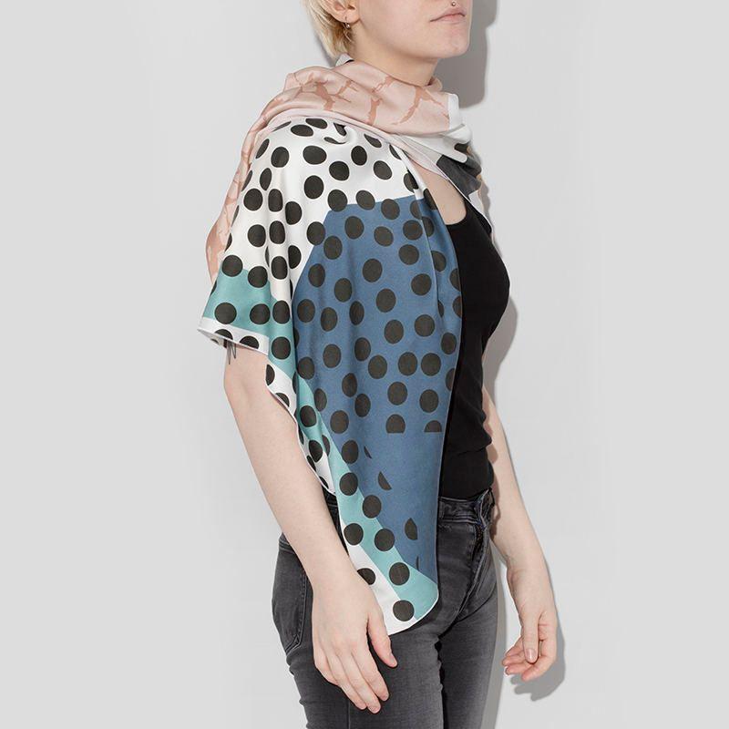 create scarf or shawl