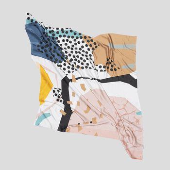 gepersonaliseerde vierkante sjaals