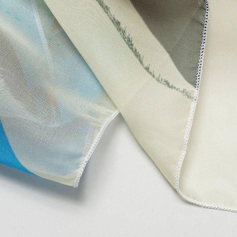 custom printed headscarf detail