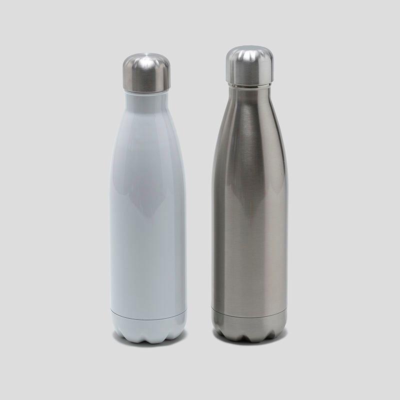 custom drink bottle close up