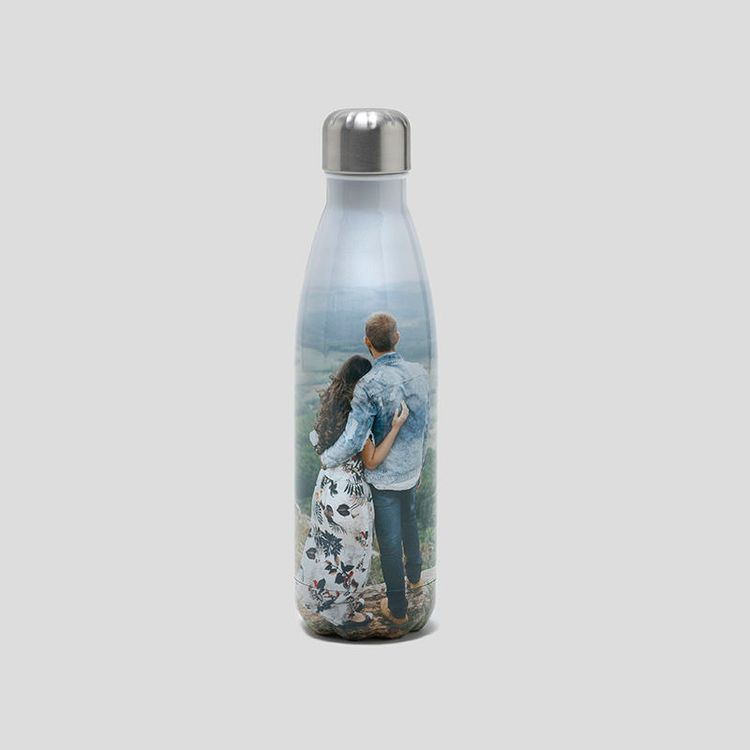 botella reutilizable personalizada de acero inoxidable