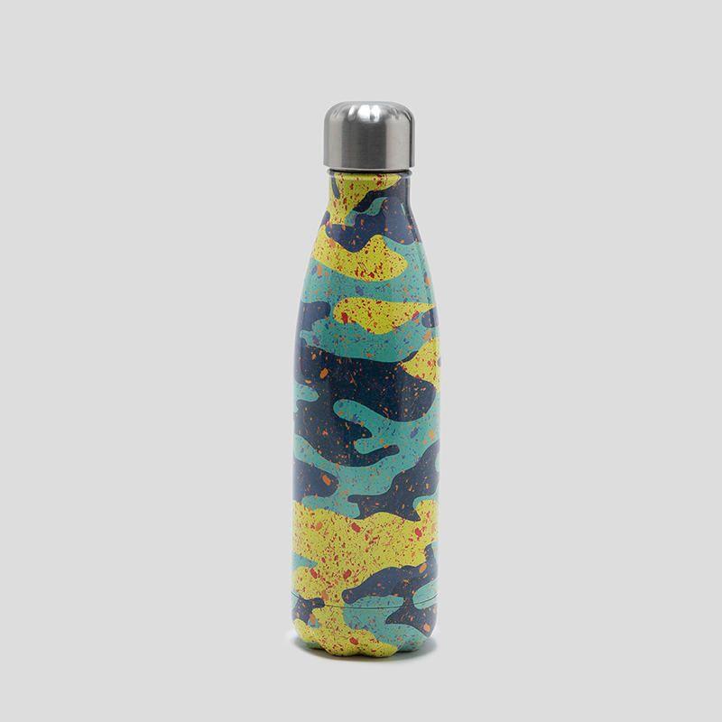 custom drinks bottle close up