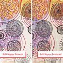 ナッパレザーにオリジナルデザインを印刷 テクスチャ有りとなめらかタイプ