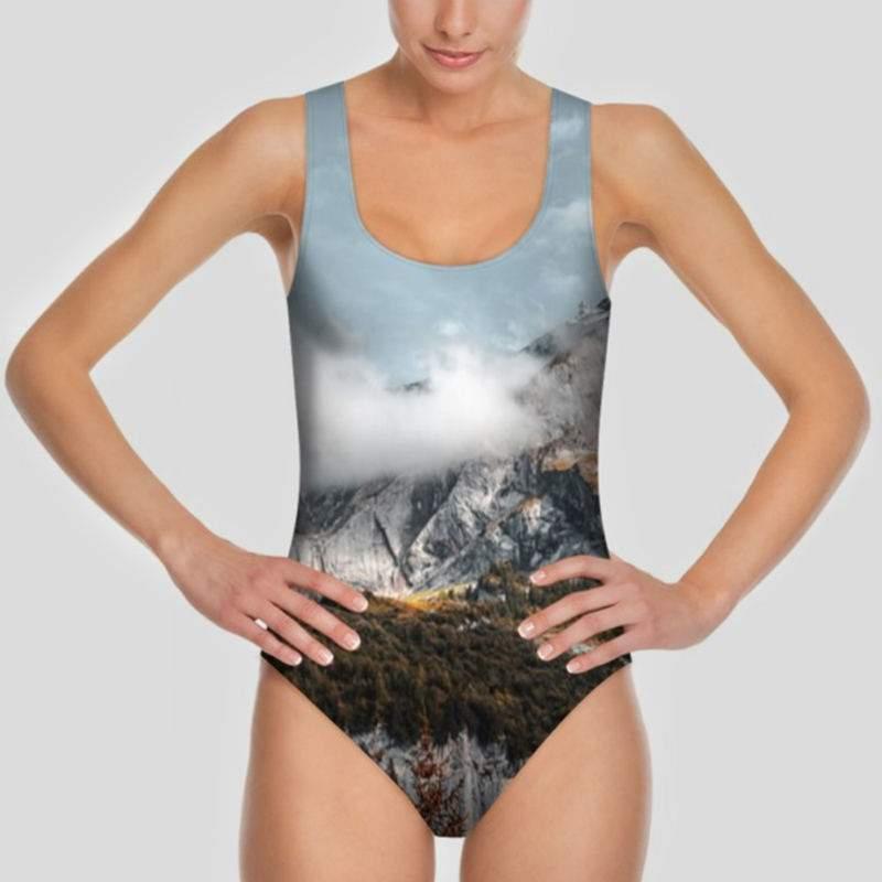 95ec6248b Custom One Piece Swimsuit