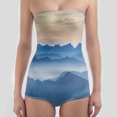 个性化定制泳衣(无肩带)