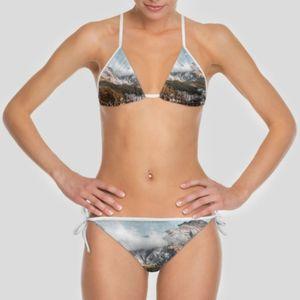 landscape personalized bikini