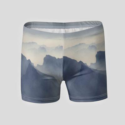 个性化平角泳裤