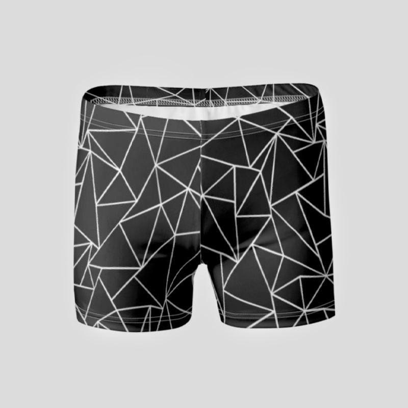 personalised printed swimming trunks
