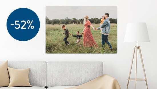 foto canvas prints korting 52%