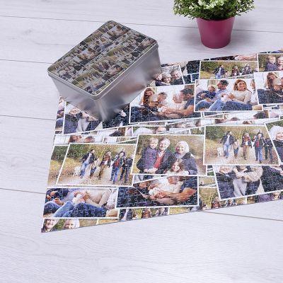puzzle photo collage