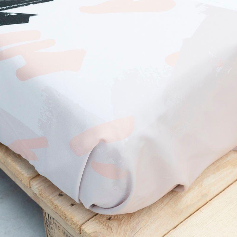 custom bed sheets corner details