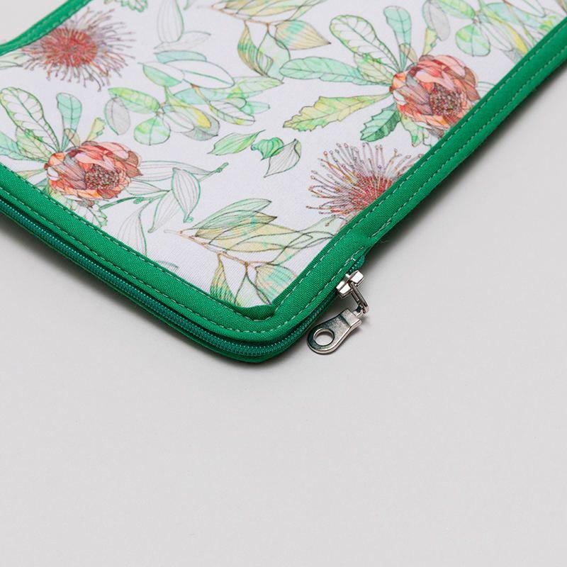 zipper detail custom ipad mini case