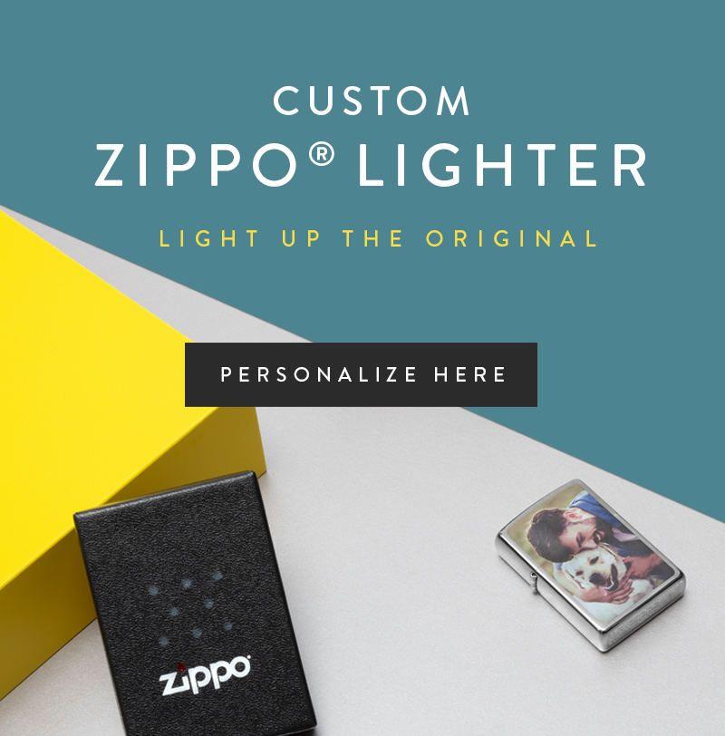Custom Zippo® Lighter with photos