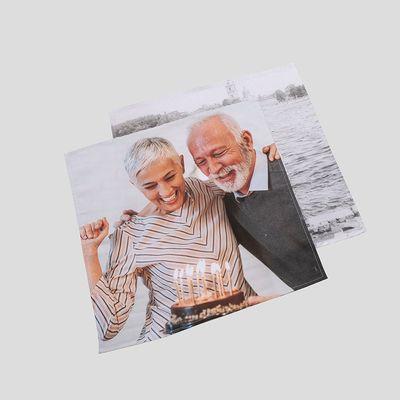 servilleta tela personalizada fotos regalo