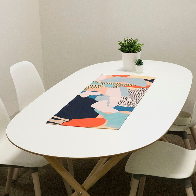 custom printed table runners