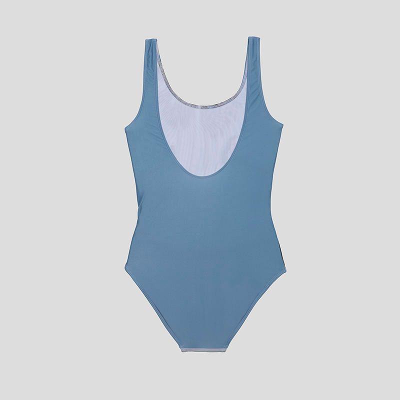 back of custom swimsuit