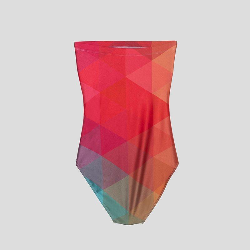 design custom swimsuit strapless