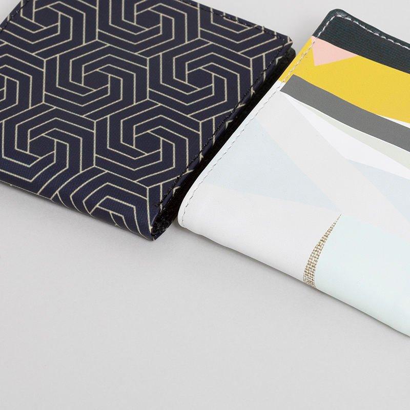 cartera billetera personalizada detalle de impresión