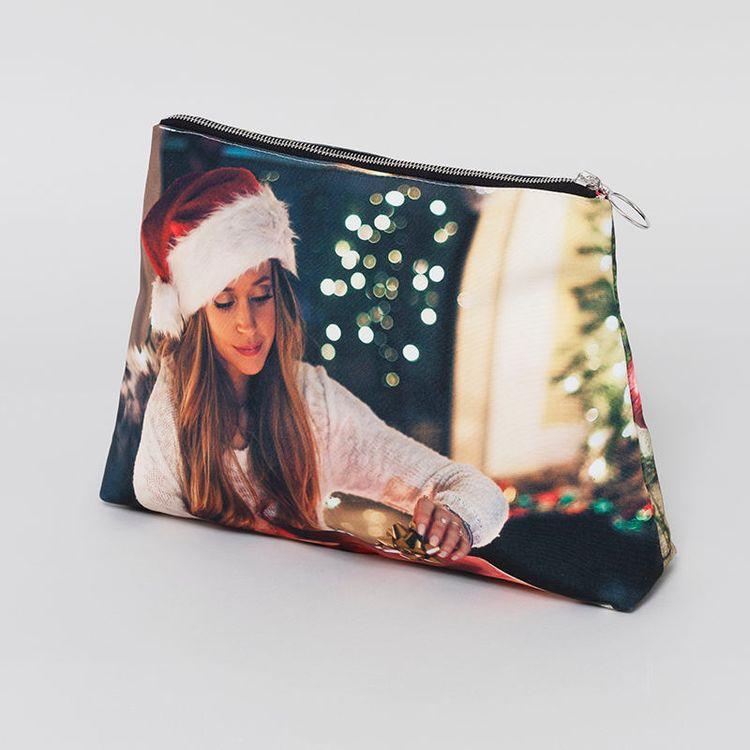 セカンドバッグ クリスマス写真プリント