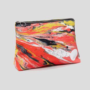 custom made clutch bag