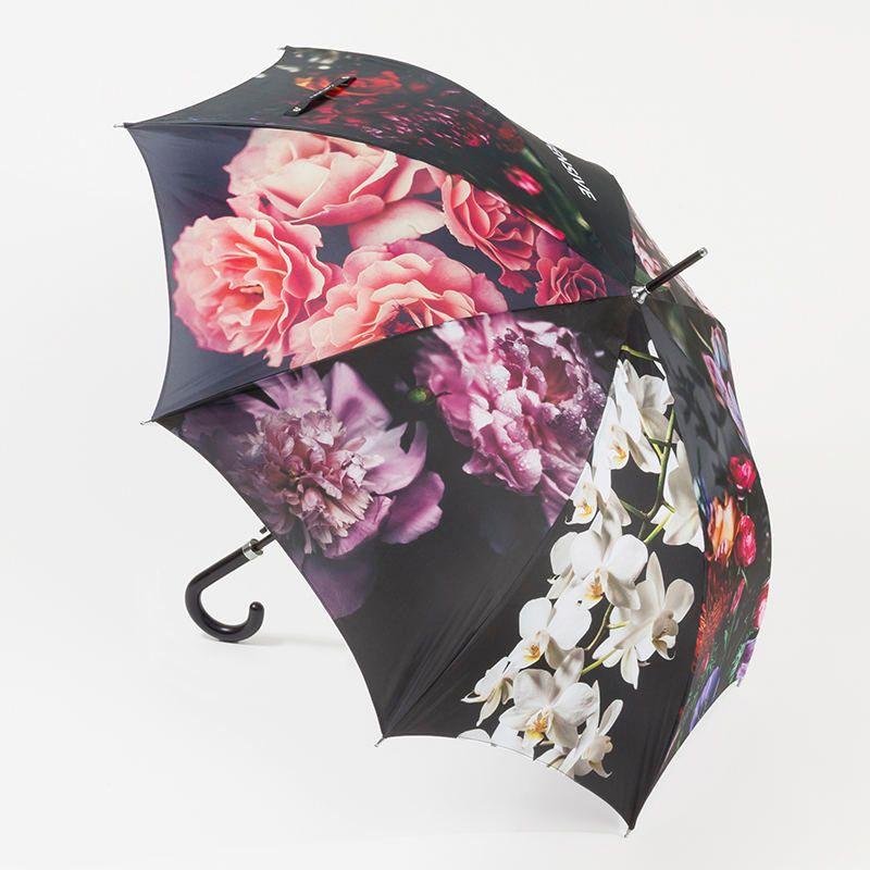 Parapluie personnalisé avec des designs floraux