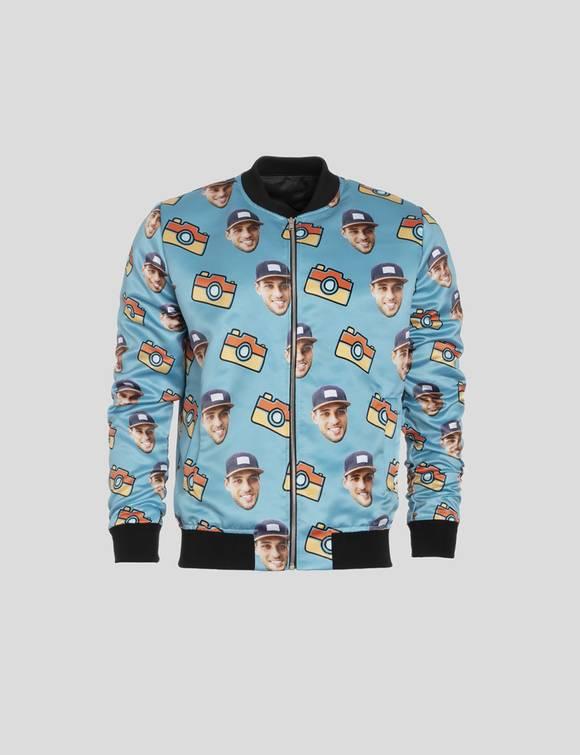 face bomber jacket
