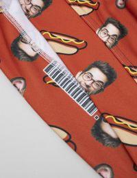 hot dog hoodie mit gesicht