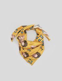 cat face scarf