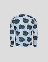 pullover mit hunde gesicht