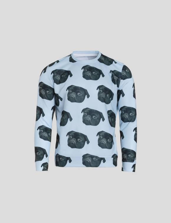 pullover mit gesicht