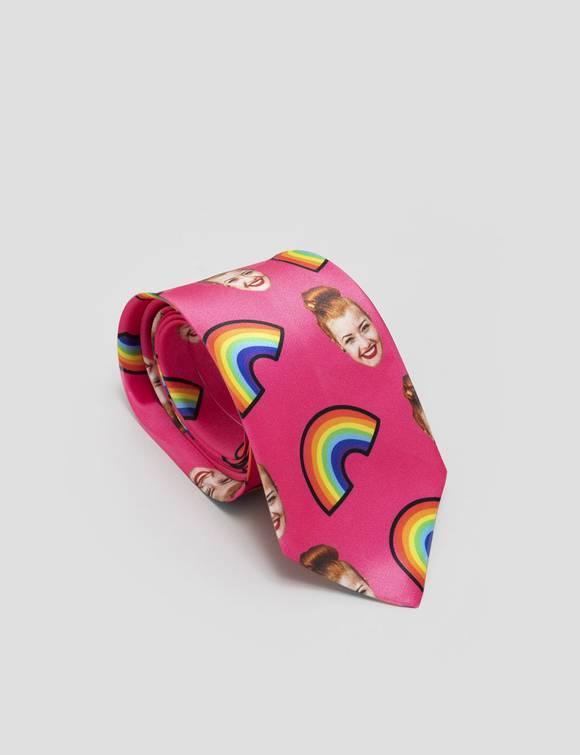 krawatte mit gesicht