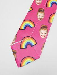 krawatte mit gesicht bedrucken lassen