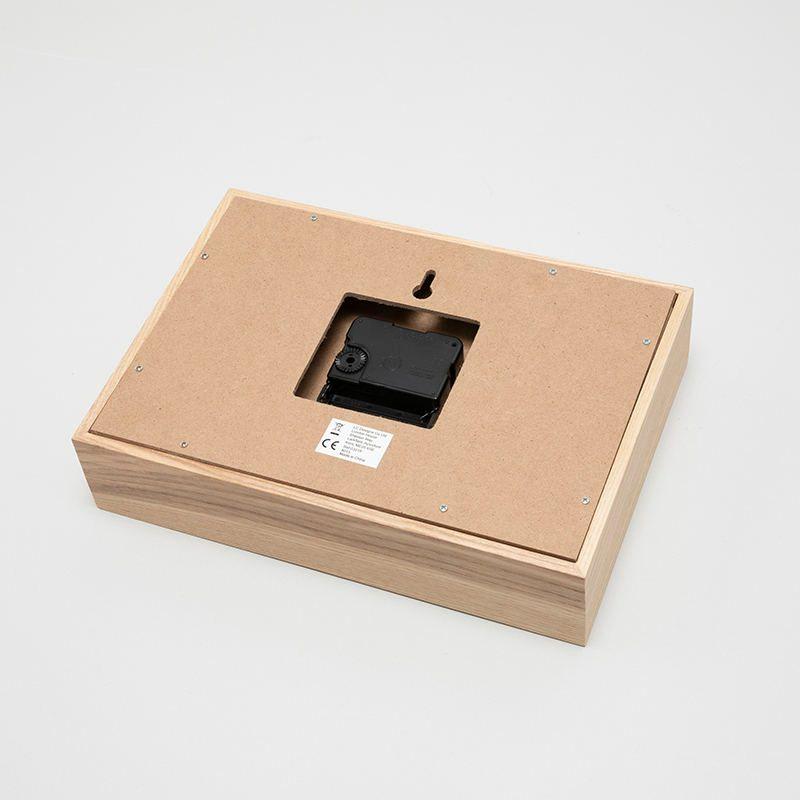 Custom desk clock