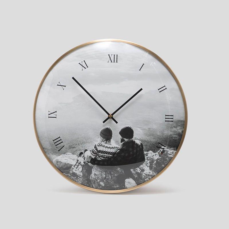 Personalized Wedding Clock. Wedding Gift Clock