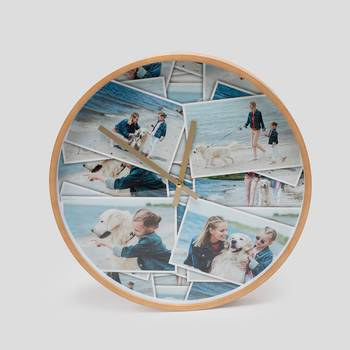 Reloj redondo de pared personalizado