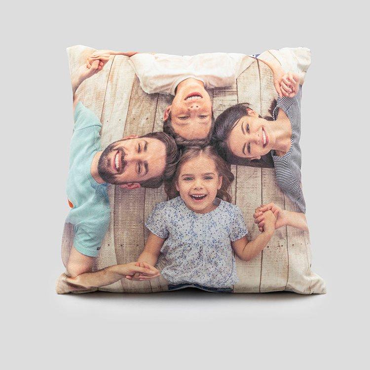Customised photo cushions
