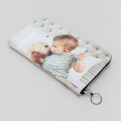 portefeuille personnalisé avec photo