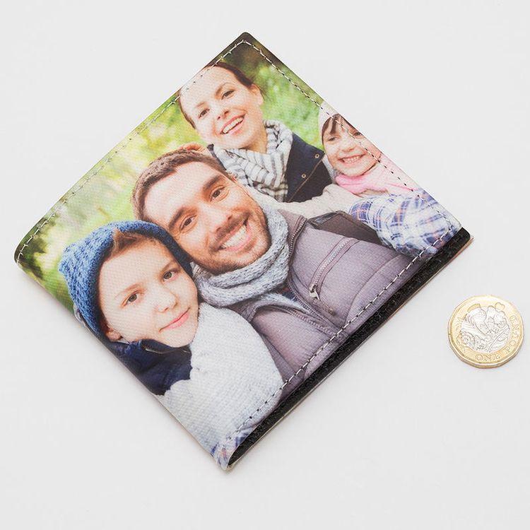 cartera hombre foto familia
