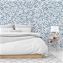 tapete bedruckt für schlafzimmer
