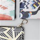scelta del tessuto dei portafogli personalizzati da donna
